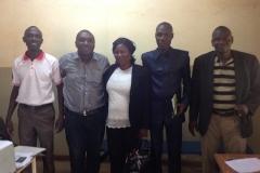 Visite de travail à Alert Migration Burkina Faso 1