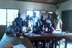 Visite de travail à ESAM et à UFF Bénin 1