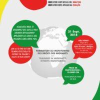 Formation au monitoring à Abidjan – Côte d'Ivoire