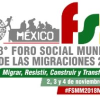 Participate to the World Social Forum on Migrations 2018 in Mexico