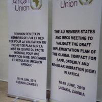 Contibution of CSOs at AU meeting on GCM Implementation