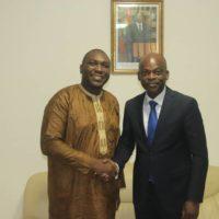 Entretien avec le Ministre Dussey sur la participation des OSC africaines aux négociations ACP-UE