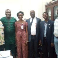 Visite de courtoisie à la Commission de la CEDEAO