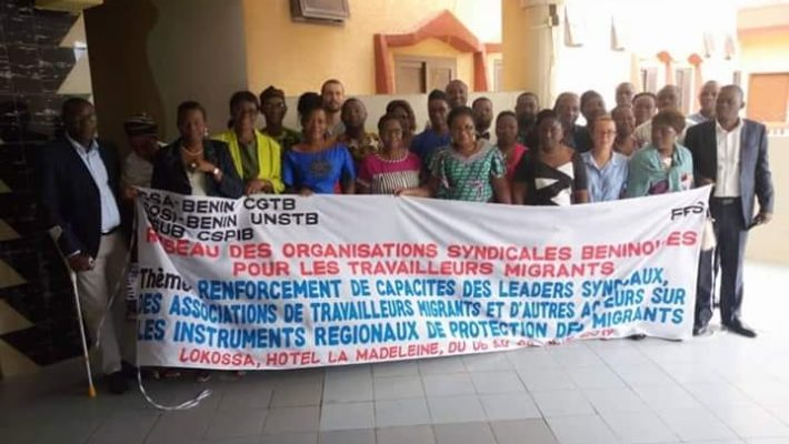 Training of trade unions, CSOs and migrant's organisations in Lokossa (BENIN)