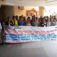 Formation des syndicats, des OSC et des organisations de migrants du Bénin